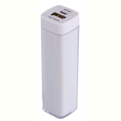 Bнешний аккумулятор Bar, 2200 mAh, ver.2, белый